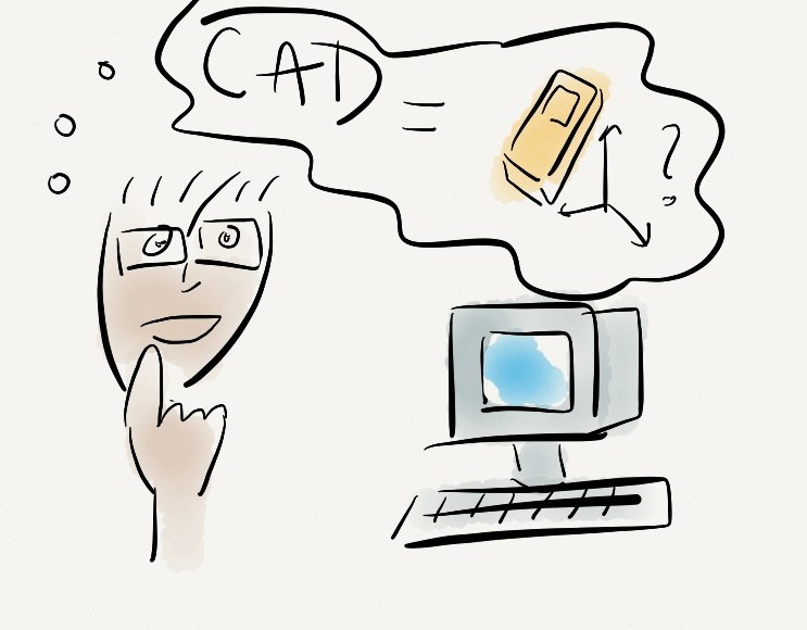 The difference between CAD and CAE