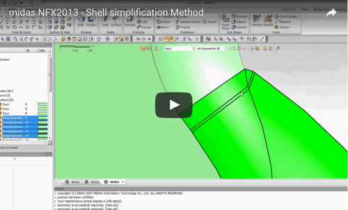 Simplify Shell models for better meshing