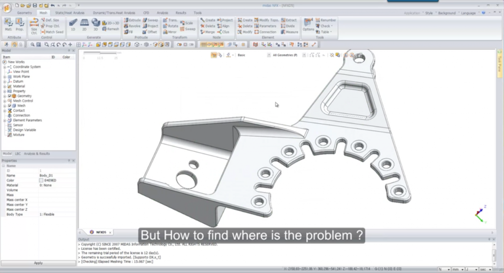 Simple solution to overcome meshing problems