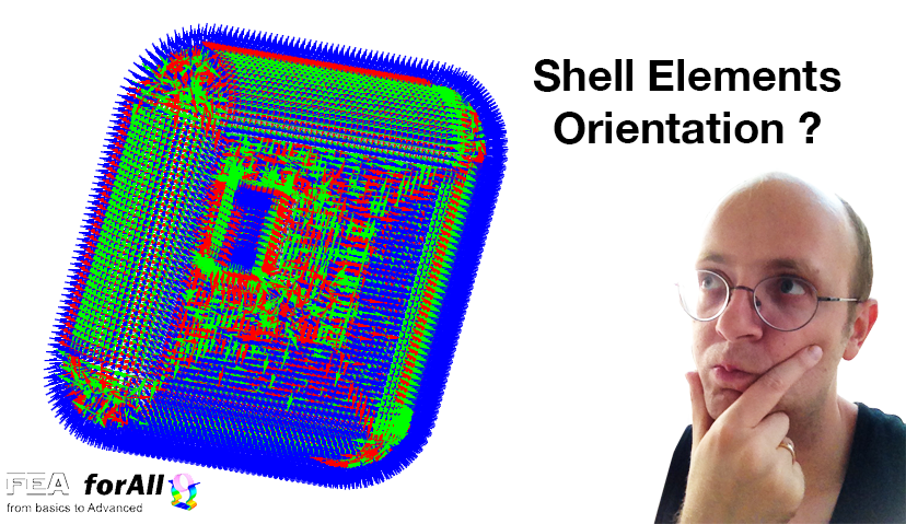 Shell elements orientation