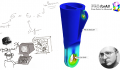 What is linear static analysis in FEA simulation?