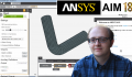 [Ansys AIM 18 Tutorial] Linear static analysis of a pressured pipe