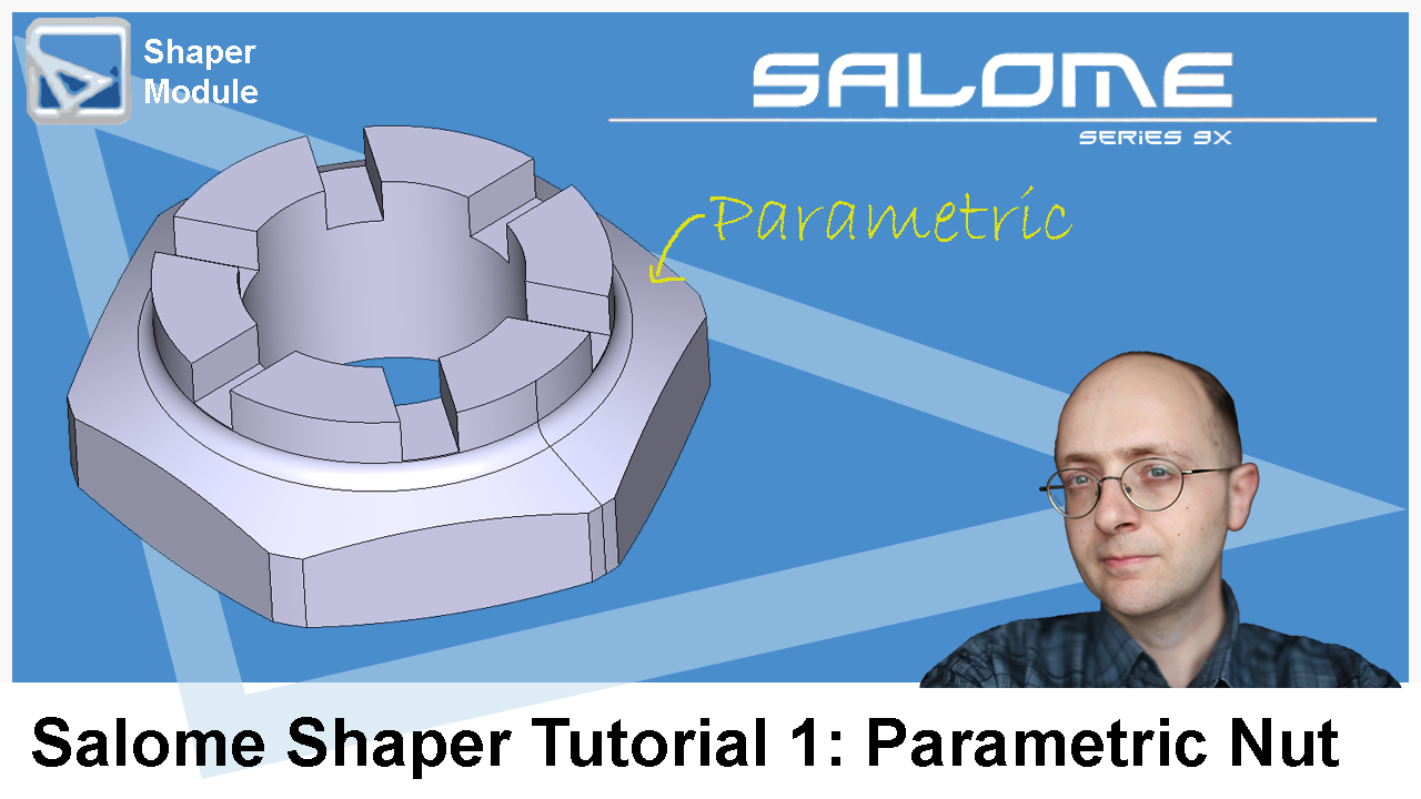 salome shaper tutorial nut