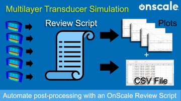 automate Impedance post-processing with an OnScale Review Script