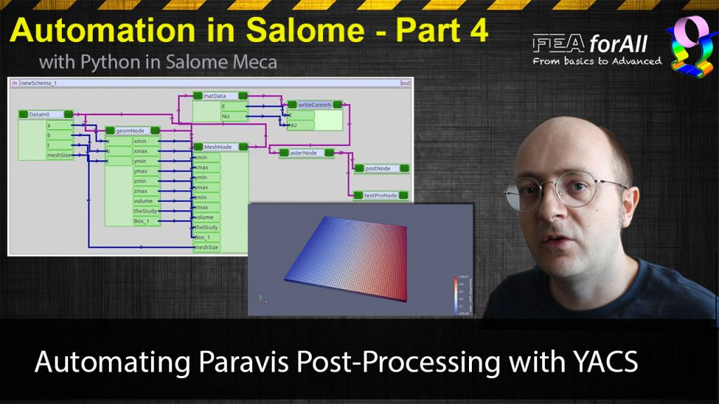 [Salome Automation 4 ] Automating Paravis Post-processing with YACS
