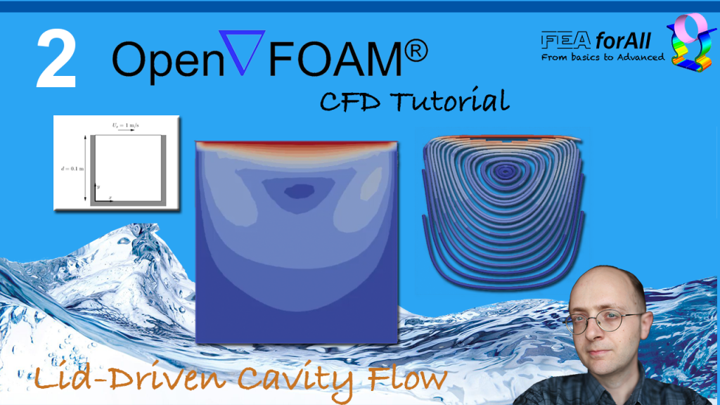 [Openfoam Tutorial 2] Lid-Driven Cavity Flow