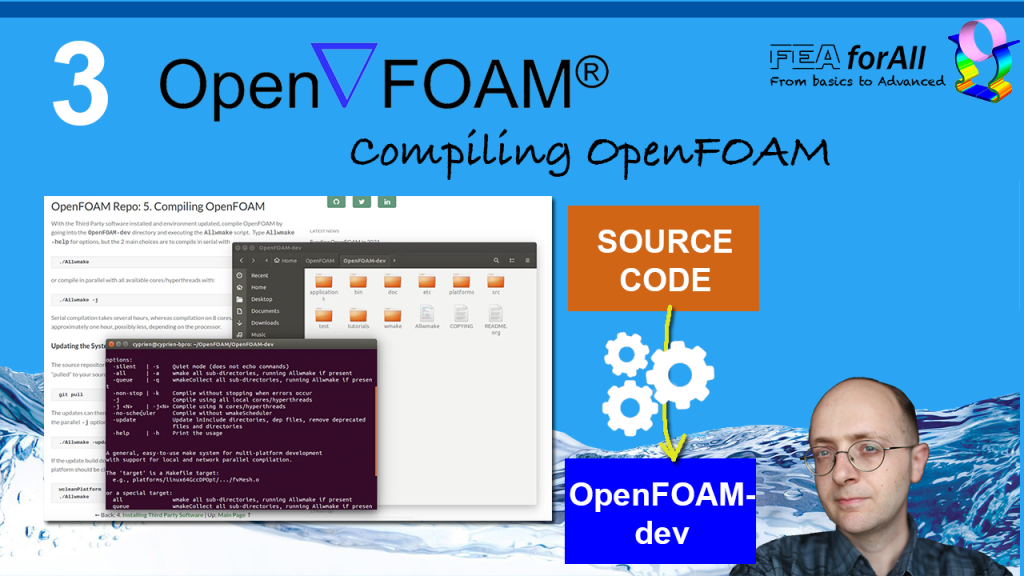 [Tutorial 3] How to compile OpenFOAM from Source on Ubuntu 18.04