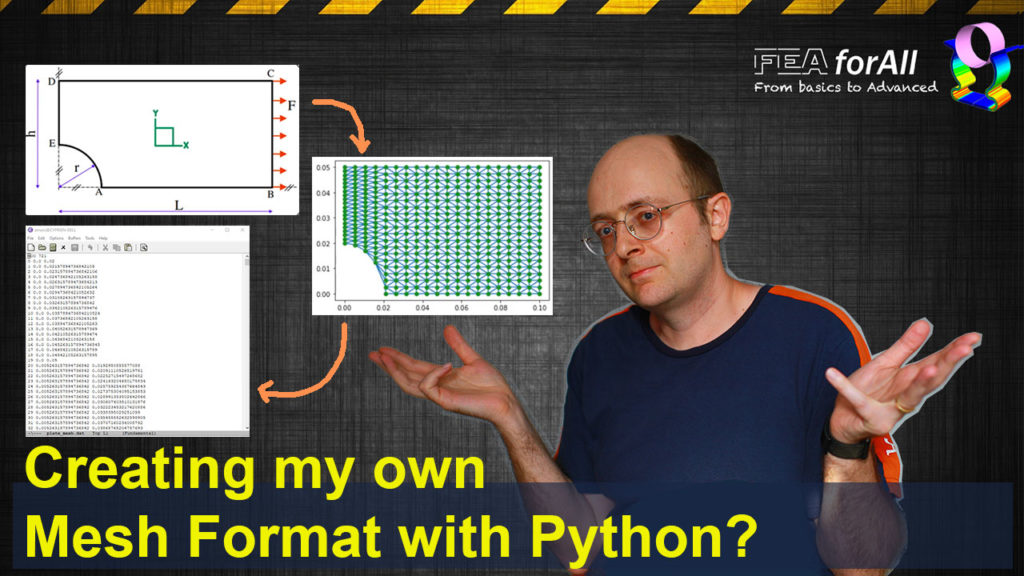 Creating my own mesh format in Python – Fun FEA learning project!
