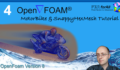 [Openfoam Tutorial 4] Simulating the flow around a Motorbike with SnappyHexMesh